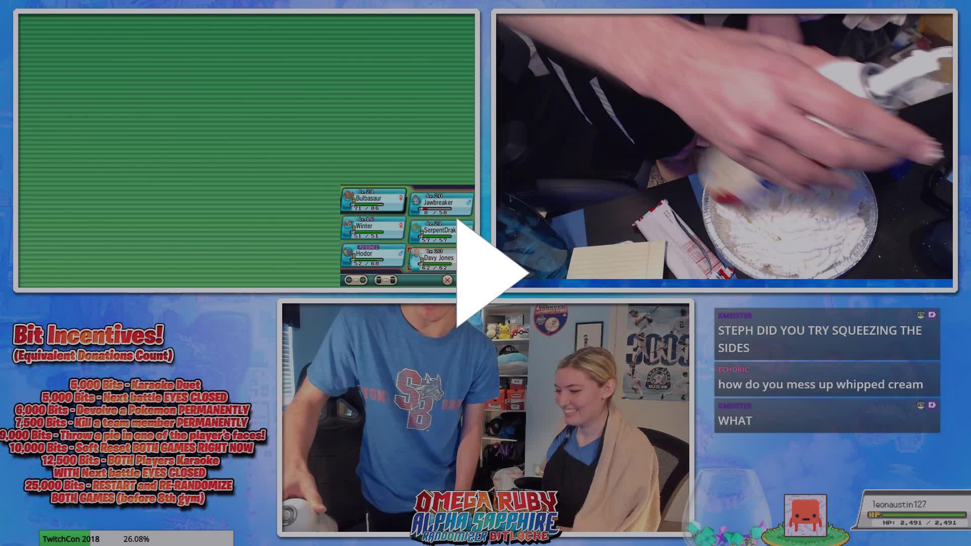 Pio Twitch Plays Pokémon – Michaeltaborsky