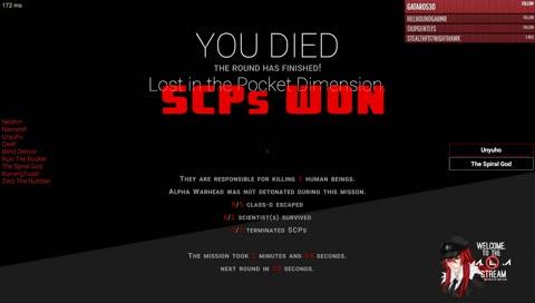 Twitch Clips of zentreya Playing SCP: Secret Laboratory
