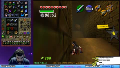[Live FR] The Legend Of Zelda OOT Randomizer 2 0 0 Training! + Event Mario  Party 2 + 3 ce soir !200 !subtember !eventmp !cagnotte • KCNecro Playing  The Legend of Zelda: Ocarina of Time • SNIPACLIP