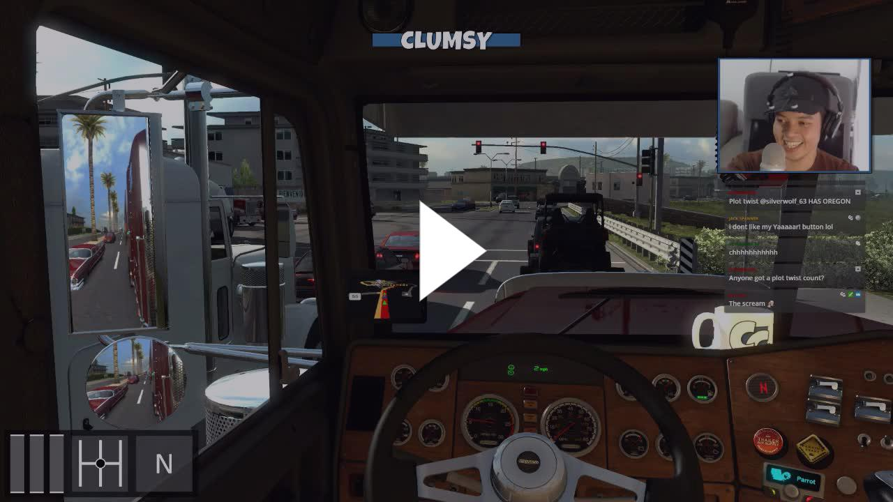 theCLUMSYgeek - Viva Mexico & Freightliner Classic XL are
