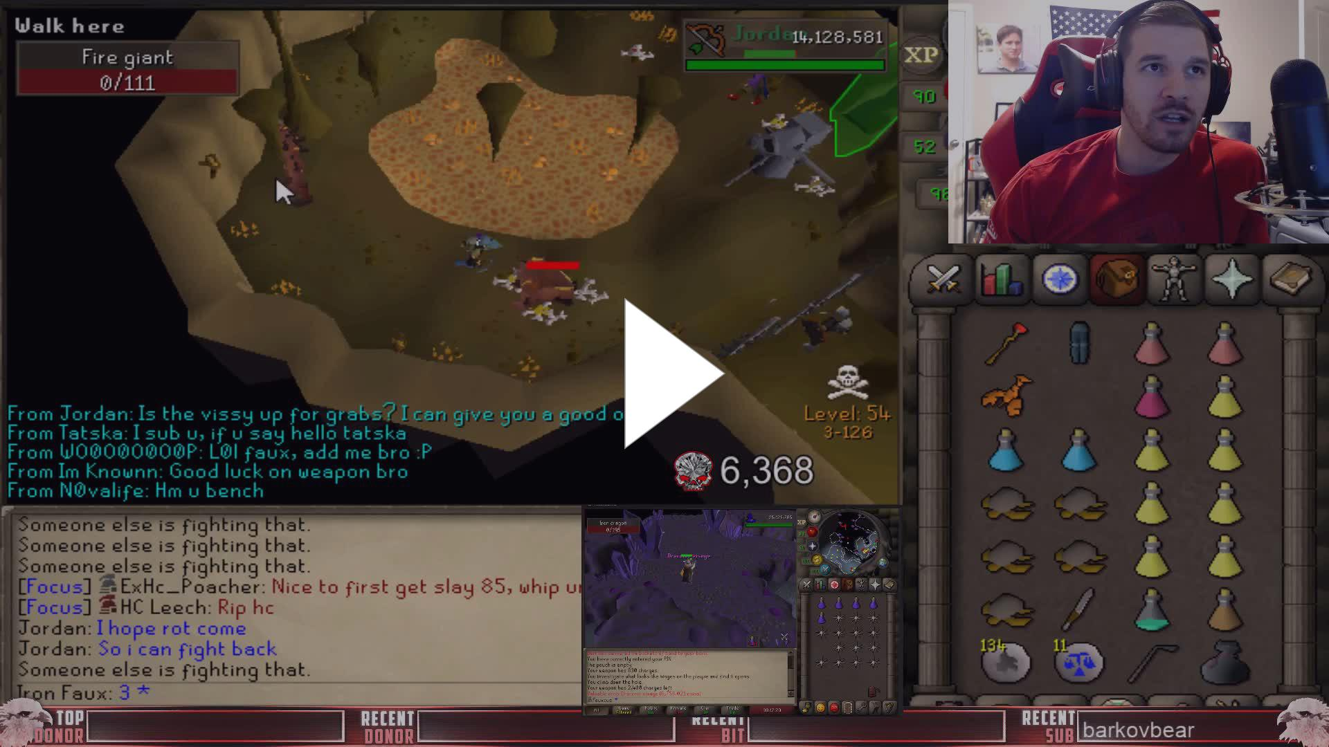 Giant pouch osrs