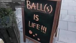 we <3 balls