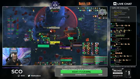 METHOD ULDIR WORLD FIRST
