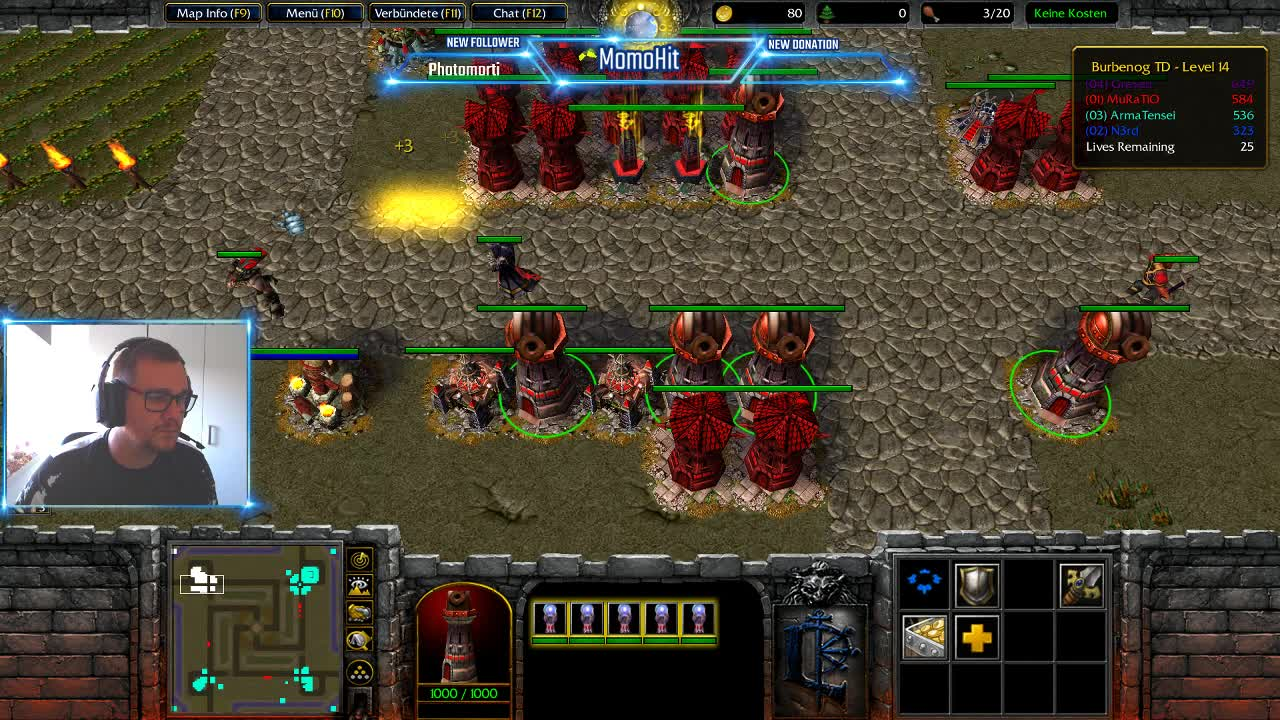 MomoHit - Tower defense - Twitch