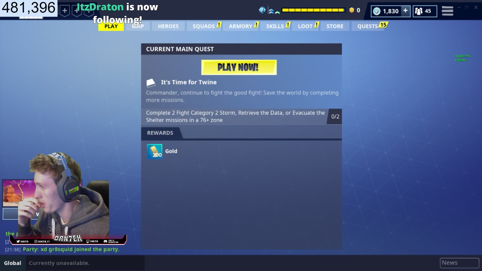 Dan7eh Trading Missions And More Twitter Twitch This Website Is Currently Unavailable
