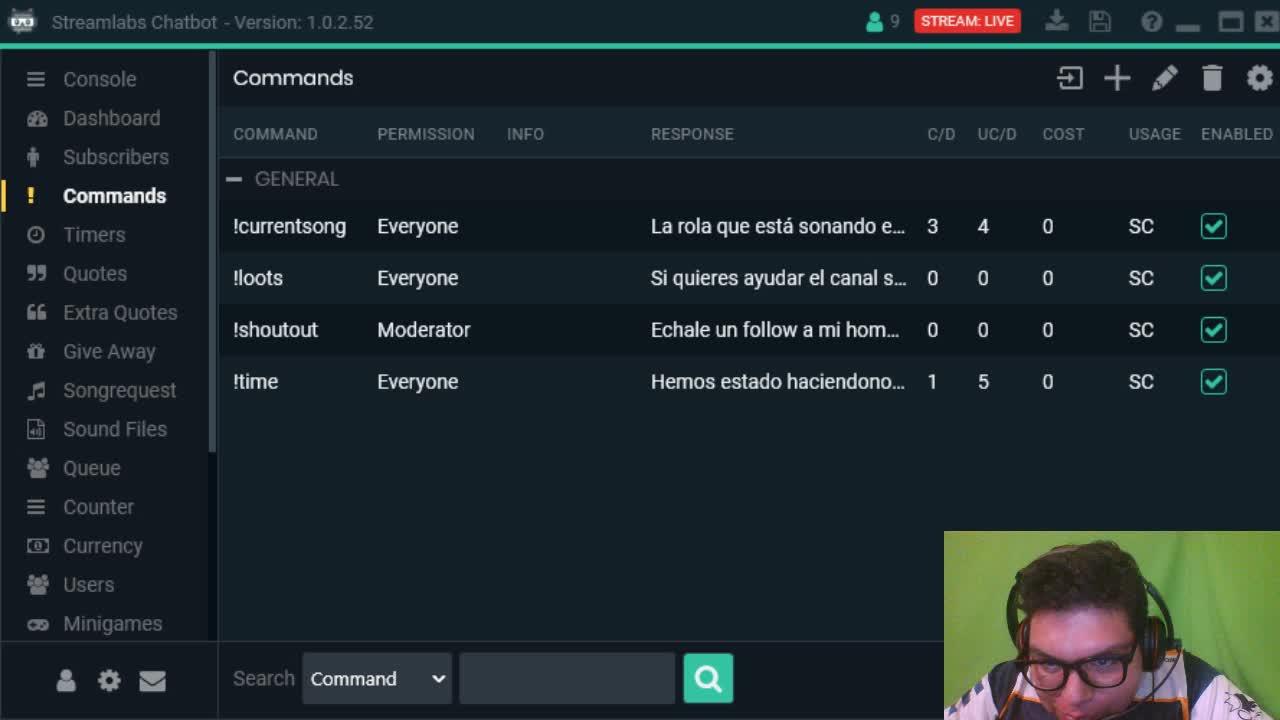 Fonclais - Configurando StreamLabs Chatbot - Twitch
