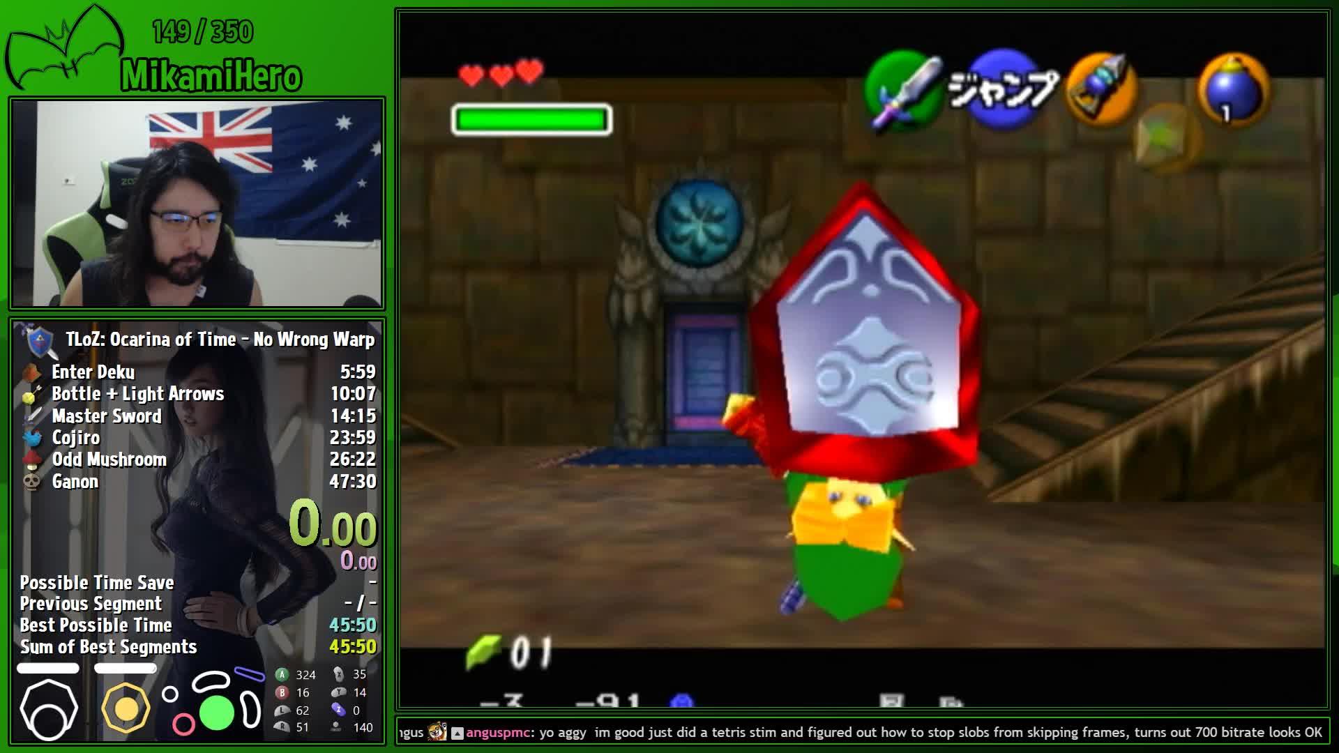 MikamiHero - OoT No Wrong Warp speedruns :) !noww - Twitch