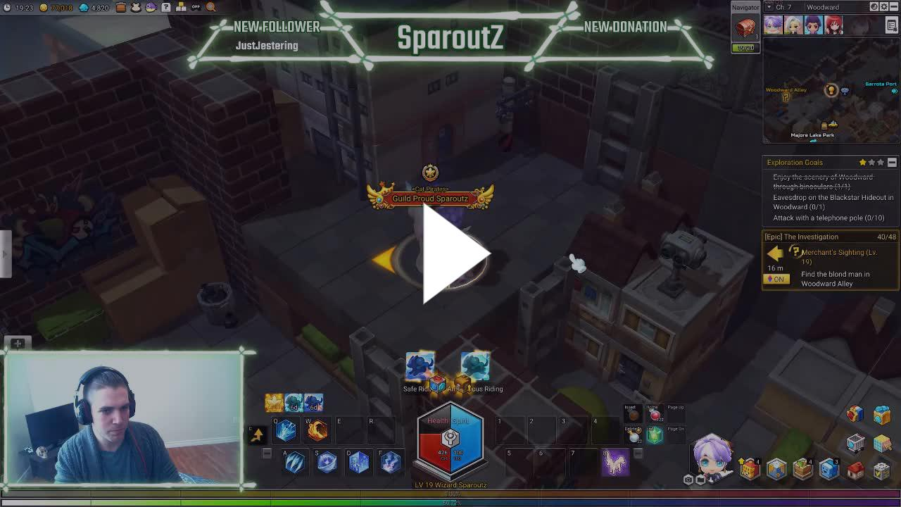 Mage] EA Mapler - Twitch