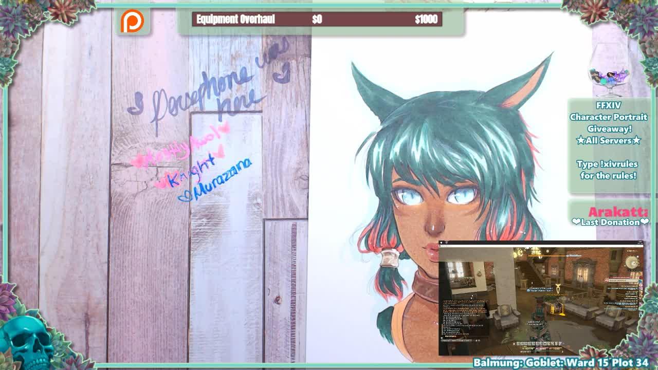 Wanderpus - [Giveaway] Final Fantasy XIV Character Portrait Raffles