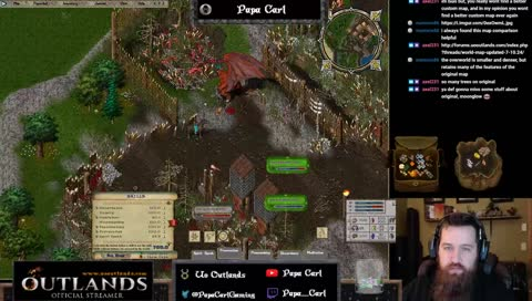 UO Outlands, BEST PVM BUILD EVER, Goal 8/15 • Papa_Carl Playing Ultima  Online • SNIPACLIP
