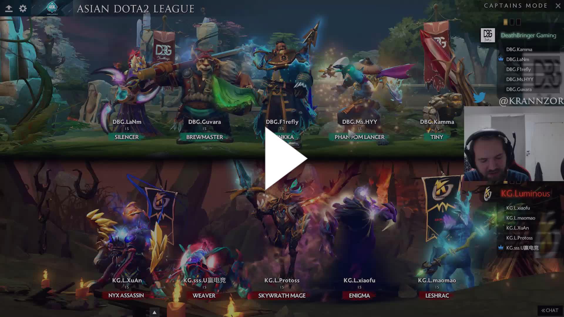 Krannz - [EN] Asian Dota2 League Deathbringer vs Keen Gaming