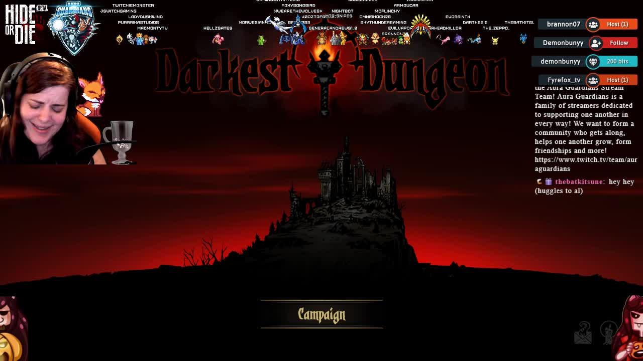 FoxySongbird - Darkest Dungeon Shenanigans - DBD later