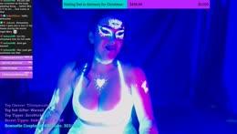 Blacklight+Body+Painting+Bellydancing+Stream%21++