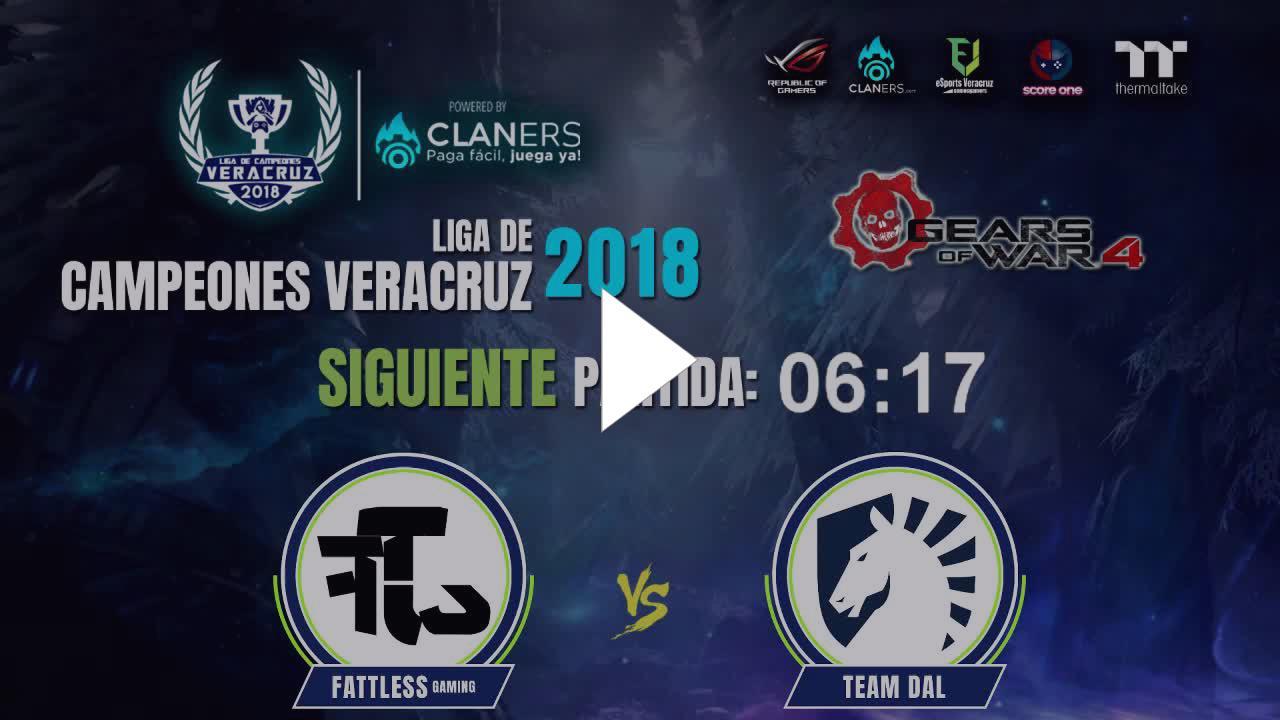 esportsveracruz liga de campeones veracruz 2018 gears of war 4 cuartos de final twitch - liga de campeones fortnite logo