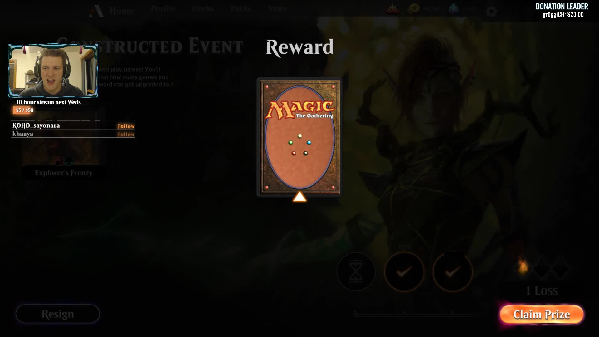 Covertgoblue - GIVEAWAY - A code for an Arena Ravnica pack