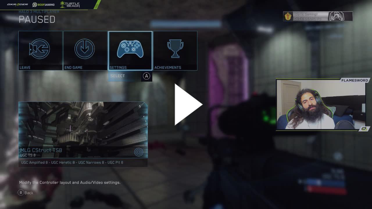 Flamesword - UGC Halo 3 2v2 Tournament - Twitch