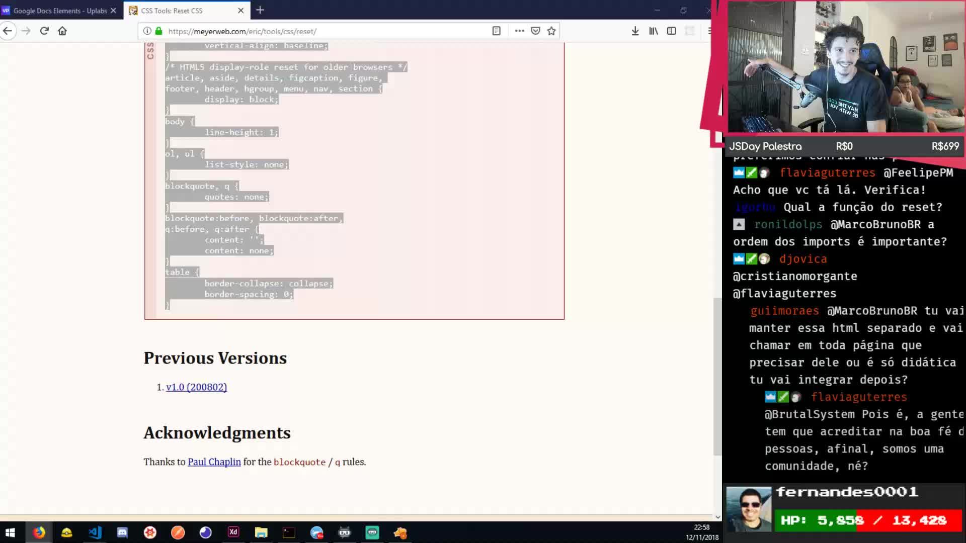 Twitch Chat Css
