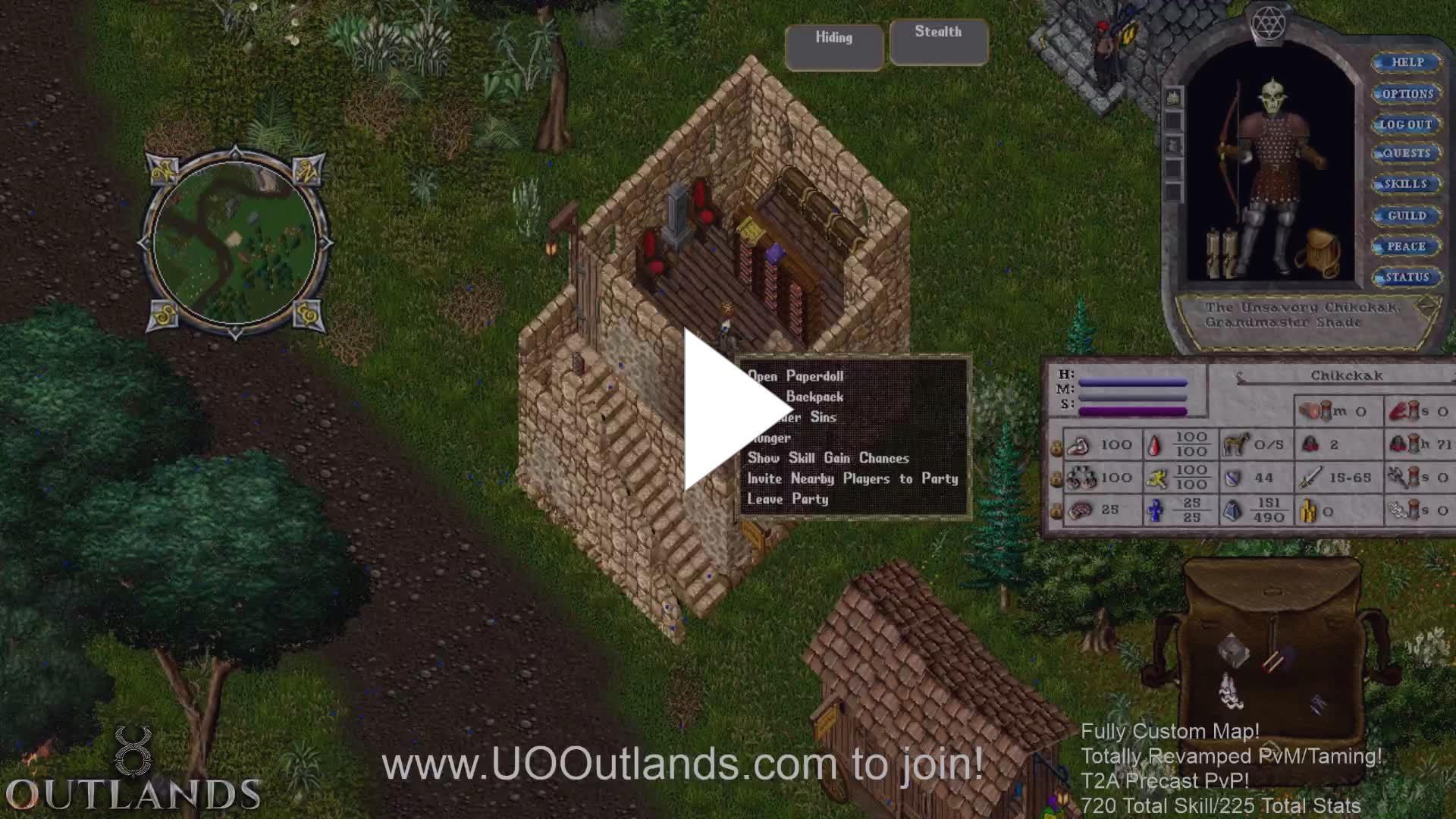 ALLWWW - UO Outlands dungeon runs - Twitch