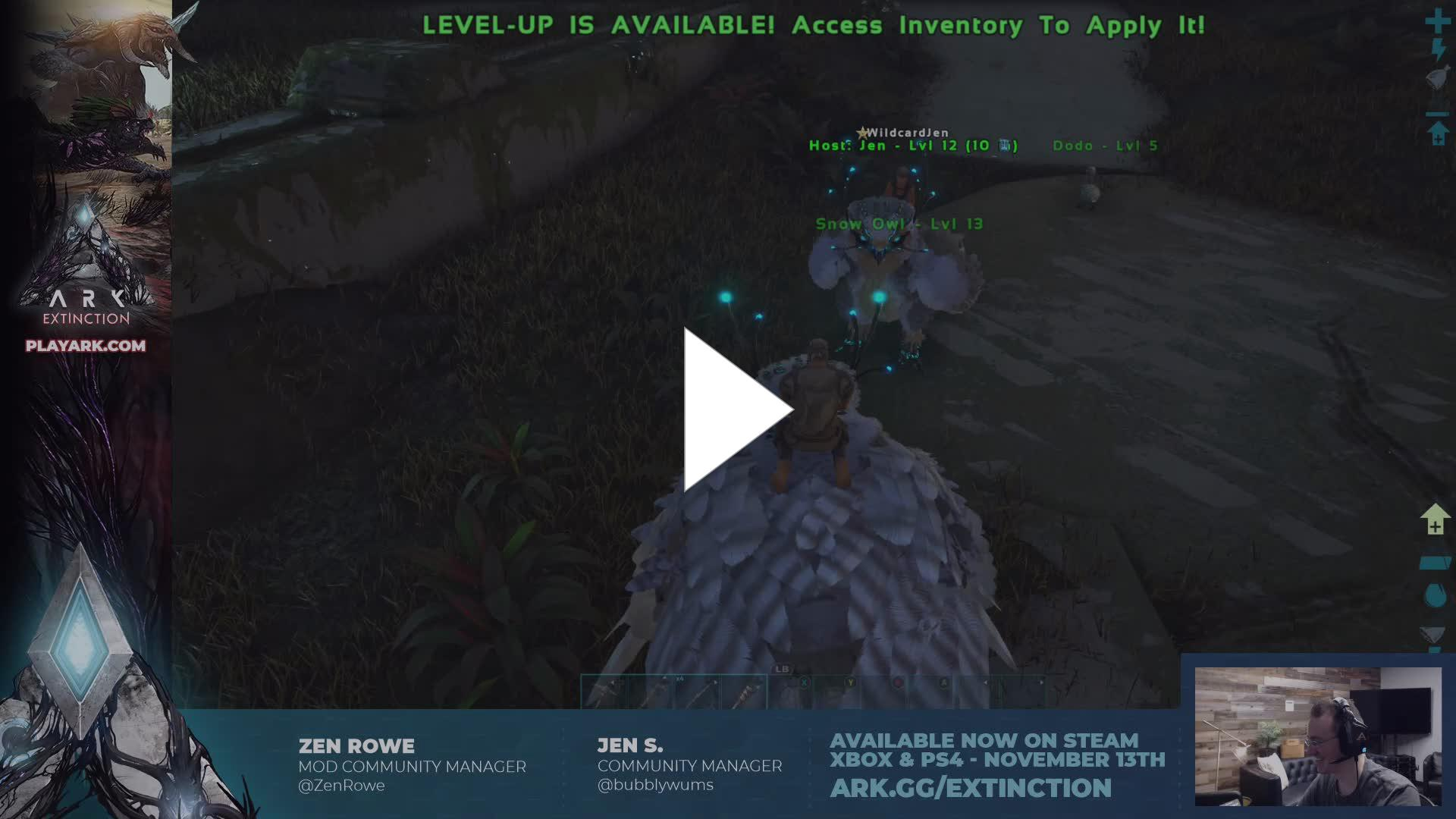 SurviveTheARK - ARK: Extinction Console Launch Day Stream! Available
