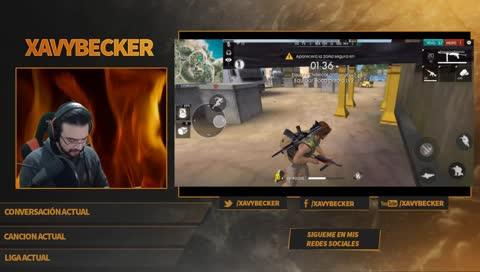 Xavybecker Lan Xavy Becker Jugando Freefire Con Ninarata777
