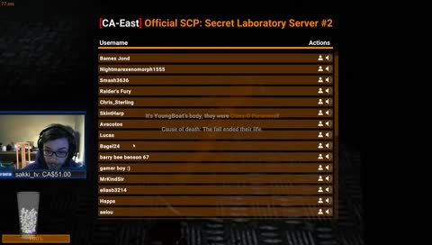 GHTZZX98 - SCP TIME - TwitchMoments - Top moments on Twitch