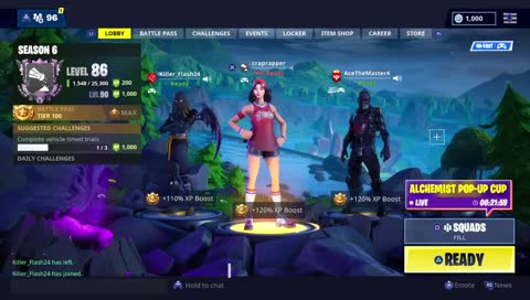 Fortnite Live Merry Christmas Pc With Controller Duo Pop Up Cup