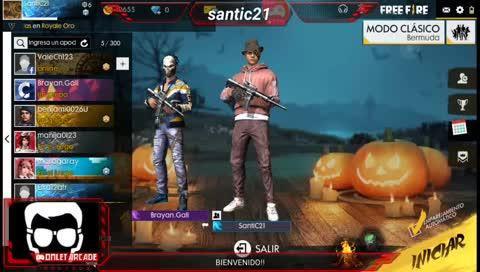Santic21 Jugando Free Fire Y Divirtiendonos Twitchmoments