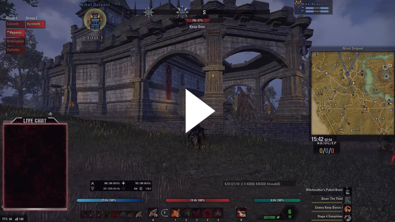 Hyponic - ESO - PC - NA - Murkmire and Crafting - Twitch