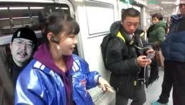 my avatar meets girl streamer Jiwooo