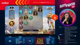🎰ANNIE FIGHTING REDBET WAGER!!! 🎰 www.slotsfighter.com @ !redbet