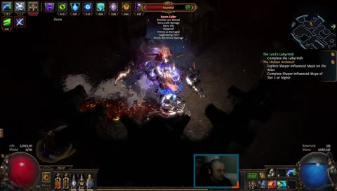 Path of Exile throwing shade at Diablo