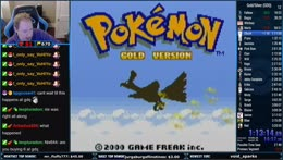 Pokemon Gold GDQ Practice Race w/Pokeguy (!race in the chat)