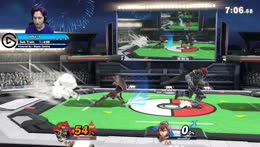 You can't deny that was an amazingly timed shield breaker.