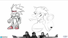 We drawin SANIC the Hedgehorg!! - Jaboody Show