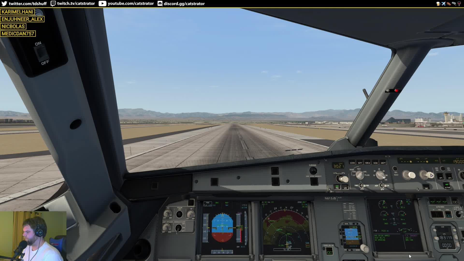 catstrator - Skymaxx & FSGRW   FlightFactor A320   PilotEdge