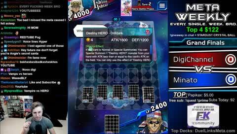 NEW BOX Tournament! Meta Weekly #51 GRAND FINALS - DuelLinksMeta