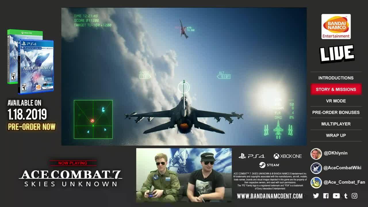BANDAINAMCOUS - ACE COMBAT 7: SKIES UNKNOWN Preview