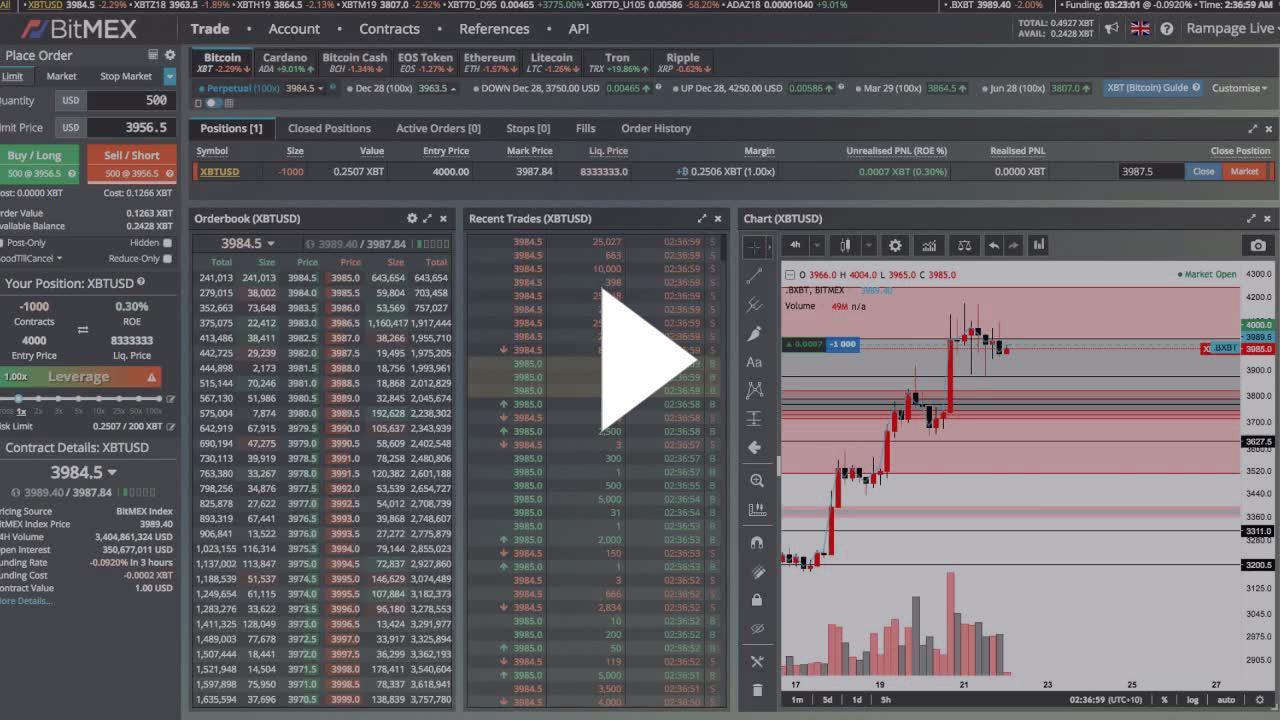 thrillmex - 24/7 Live Bitmex Trading 1BTC to Leaderboard - Twitch