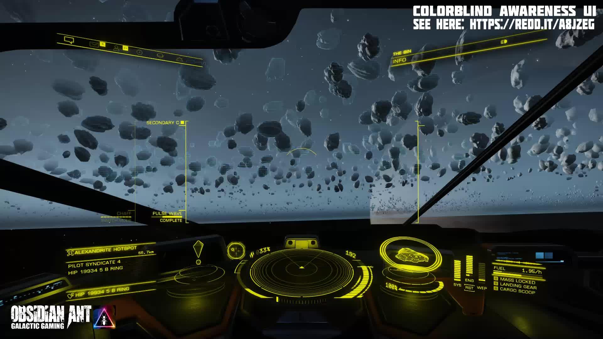 ObsidianAnt - Elite Dangerous - The Real Gold Rush - Mining