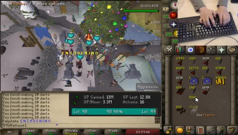 4 hour 5 minute 99 fletching