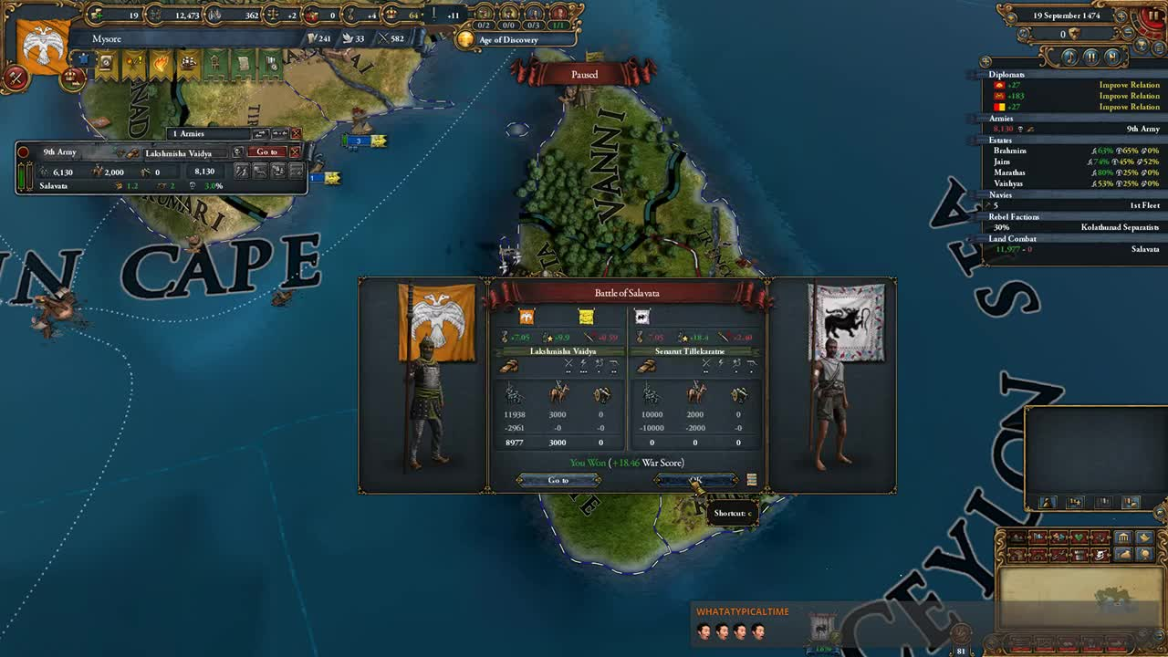 atwix_x - Eu4 Tiger of Mysore achievement on very hard - Twitch