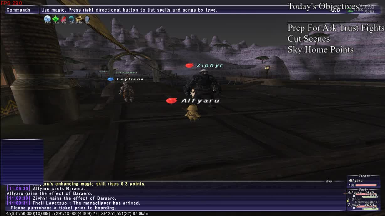 SixteenBitPanda - {Asura} [FFXI] Prep For Ark Trust Fights [Rahh