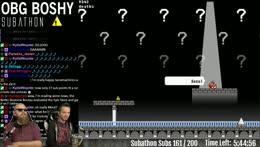 !subathon - Keep us playing Boshy for 24 hours!