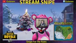 STREAM SNIPE ME FOR 1000 VBUCKS !snipe !sub | Just made the move to PC, I'm literally a bot