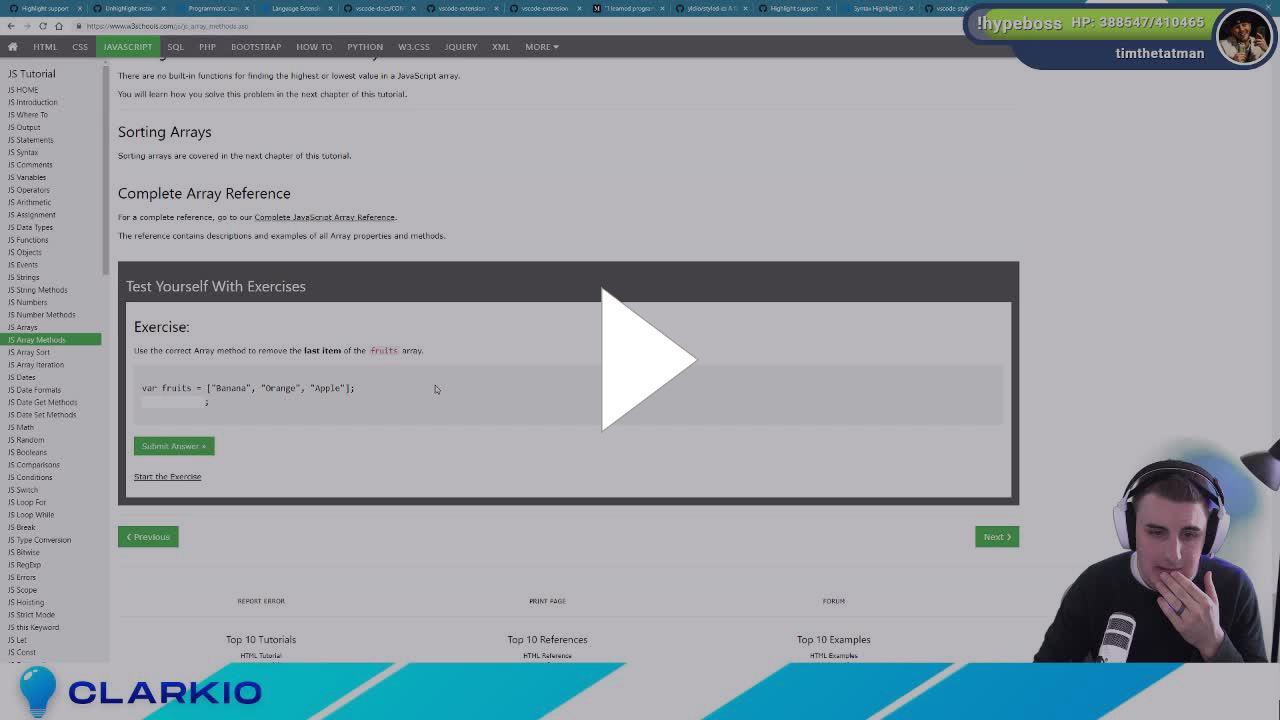 Clarkio - 🔴 VS Code Extension Development - Integrated with