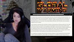 Let's Get Woke: Global Warming