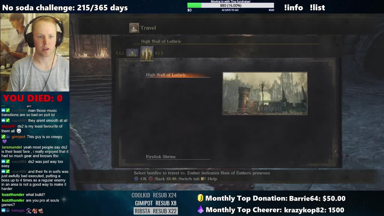 InfestedRiche - Dark Souls 3 blind playthrough !spoilers - Twitch