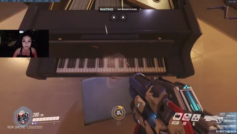 Overwatch Piano Now Playable