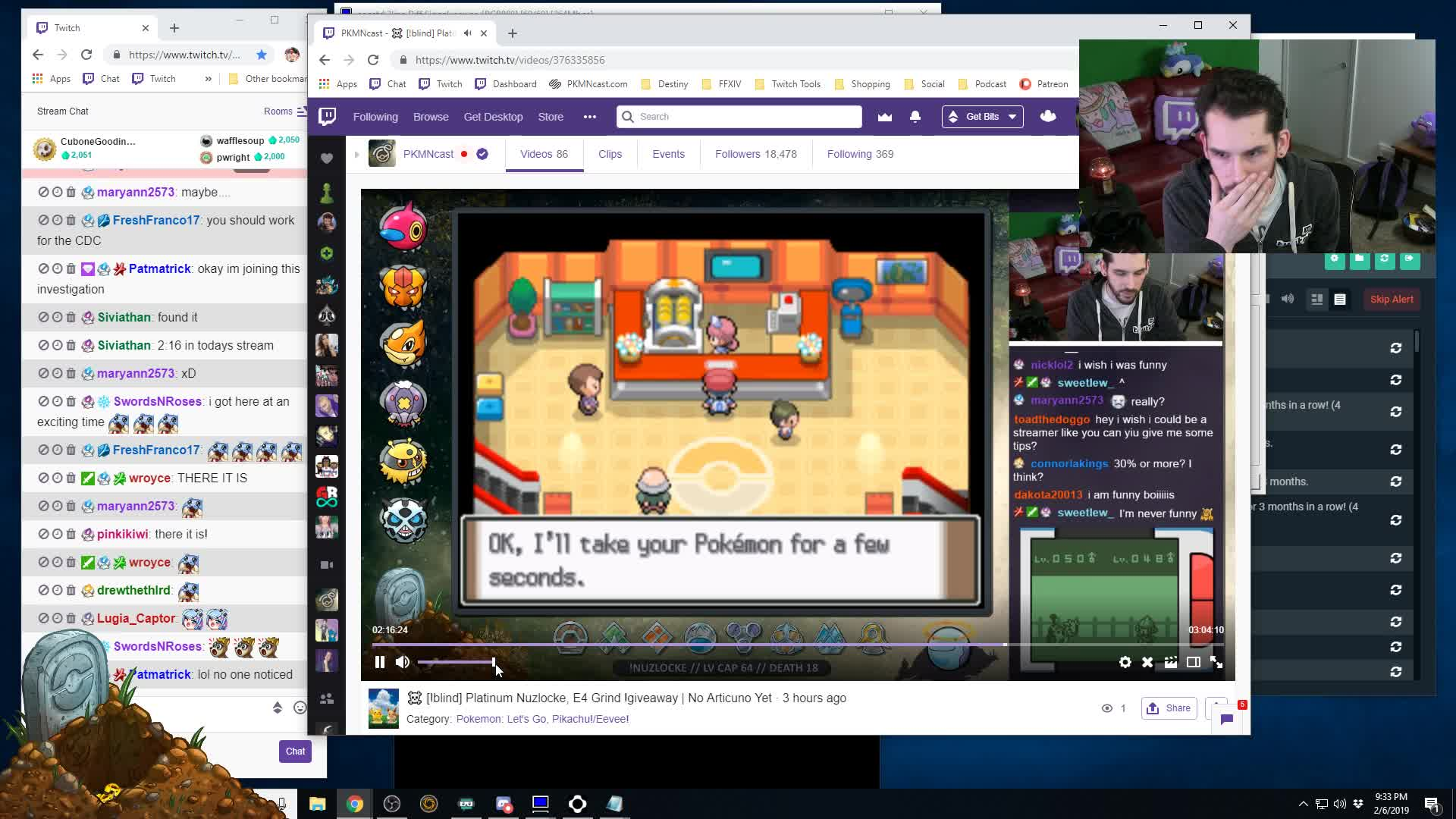 PKMNcast - Steve missed pokerus because he was busy banning