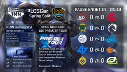 LCS Spring Split | Woche 3, Tag 1 [GER]